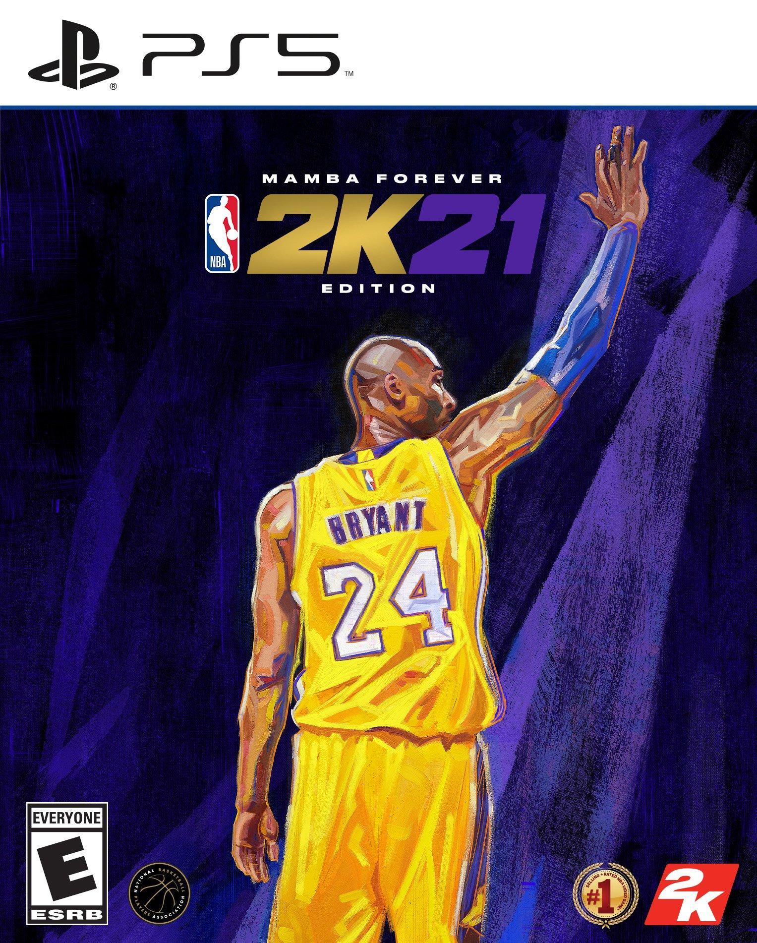 Nba 2k21 Mamba Forever Edition Playstation 5 Gamestop