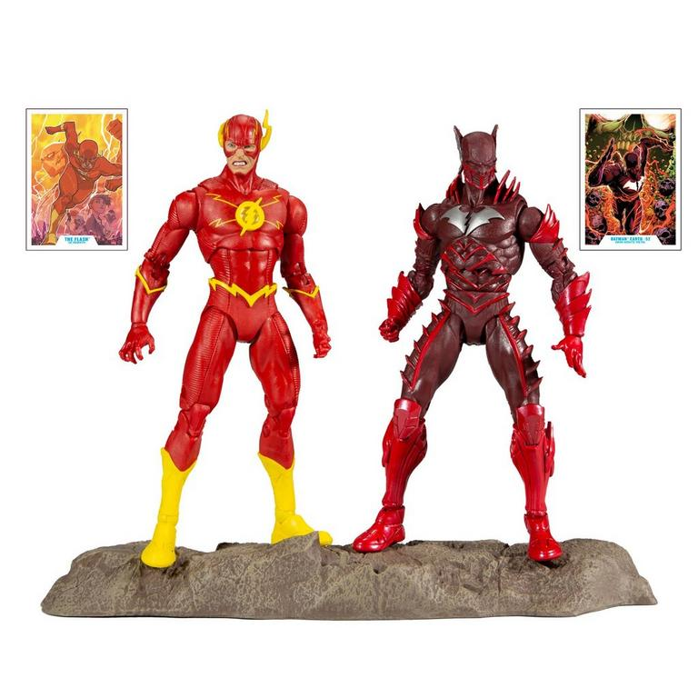 Dark Nights: Metal The Flash and Batman Earth -52 Action Figure 2 Pack