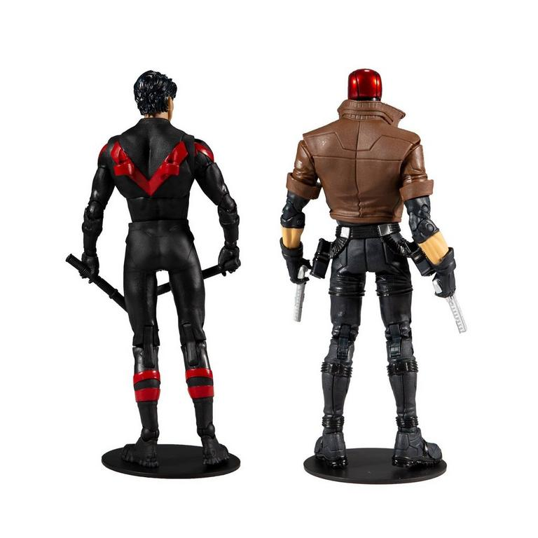 Batman Nightwing and Red Hood Action Figure 2 Pack