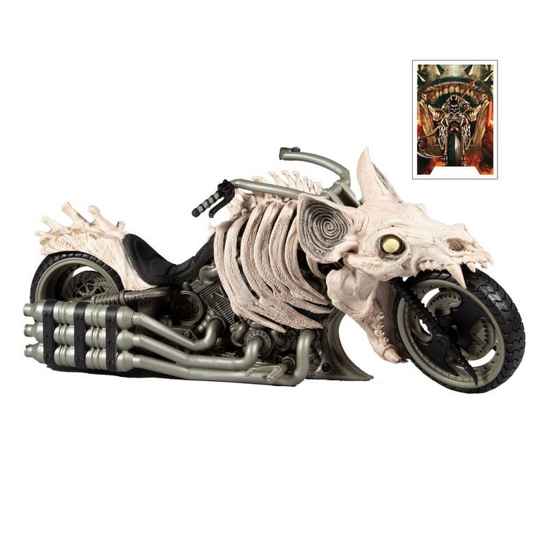 Batman Death Metal Batcycle DC Multiverse Vehicle