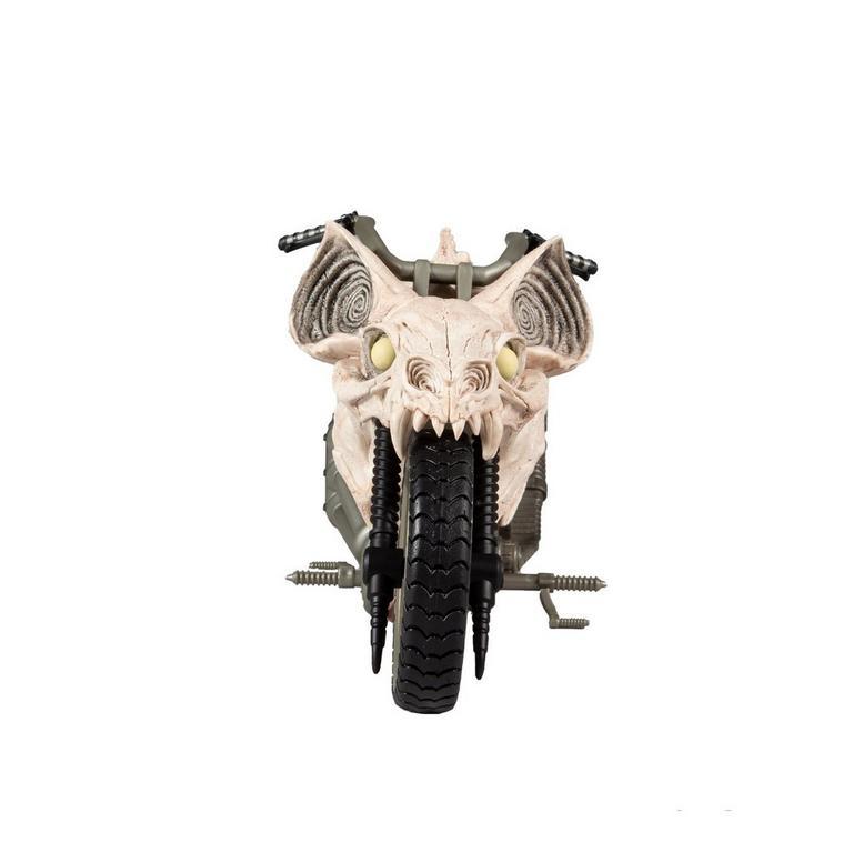 Batman Death Metal Batcycle DC Multiverse Vehicle