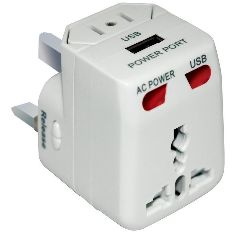 USB Travel AC Power Adapter