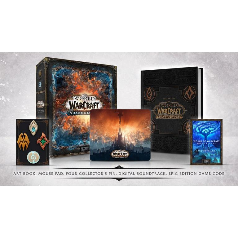 World of Warcraft: Shadowlands Physical Collector's Edition