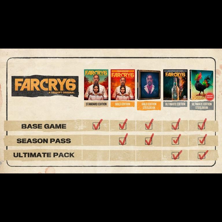 Far Cry 6 Xbox One Gamestop
