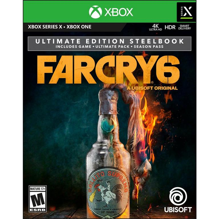 Far Cry 6 Ultimate Steelbook Edition Only at GameStop