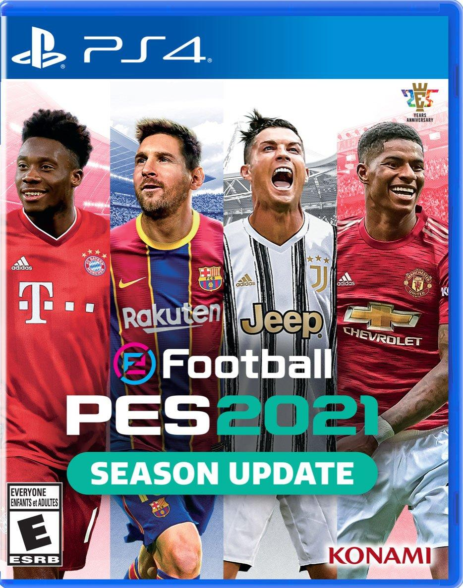 Efootball Pes 2021 Playstation 4 Gamestop