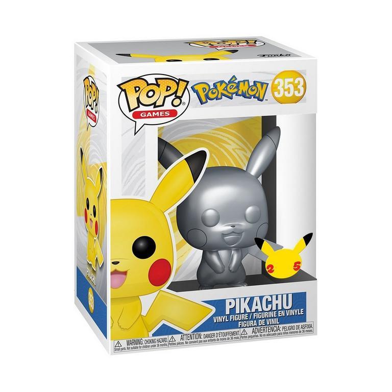 POP! Games: Pokemon Pikachu Metallic
