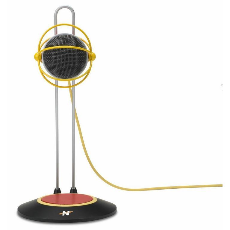 Widget B Red Desktop USB Microphone