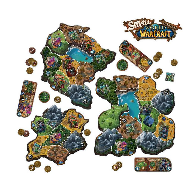 Small World of Warcraft Board Game