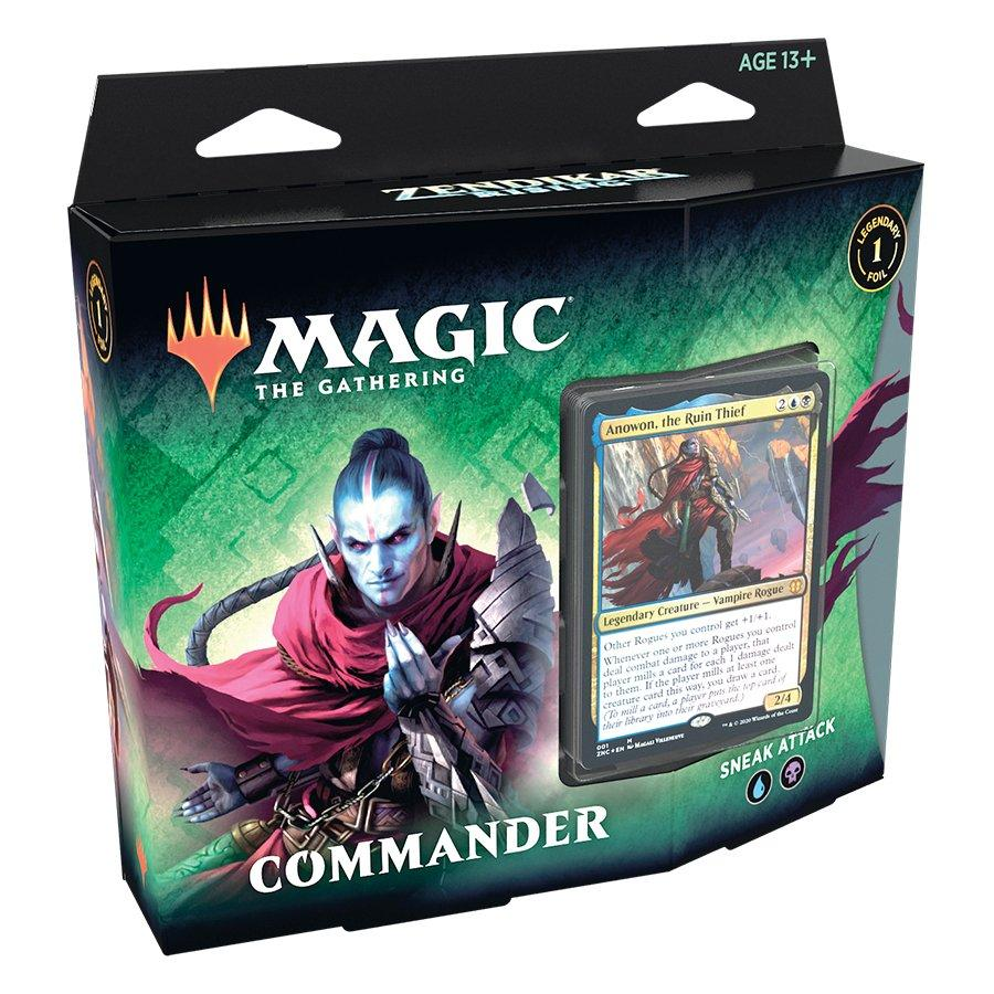 Magic: The Gathering Zendikar Rising Commander Deck (Assortment) | GameStop