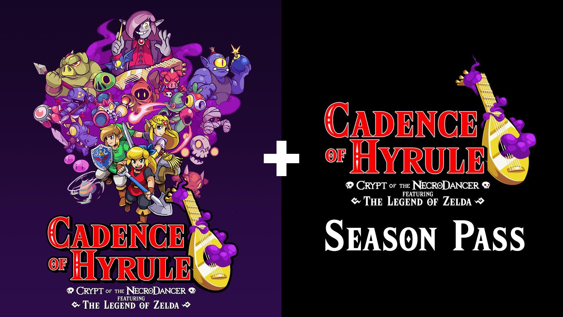 Cadence Of Hyrule Crypt Of The Necrodancer Featuring The Legend Of Zelda Plus Season Pass Nintendo Switch Gamestop
