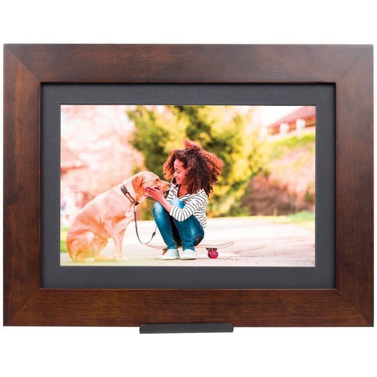 PhotoShare Friends and Family Wood Cloud Frame 10.1 in