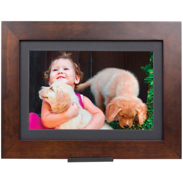 PhotoShare Friends and Family Wood Cloud Frame 8 in