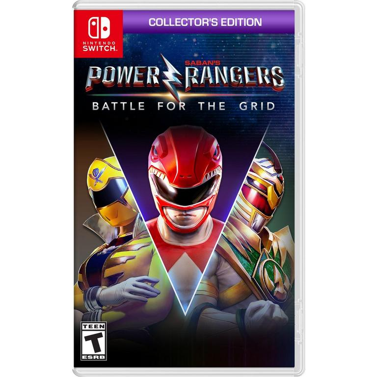 Power Rangers: Battle for the Grid Collector's Edition - Nintendo Switch