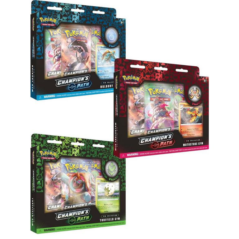Pokemon Trading Card Game: Champion's Path Wave 1 Pin Collection (Assortment)