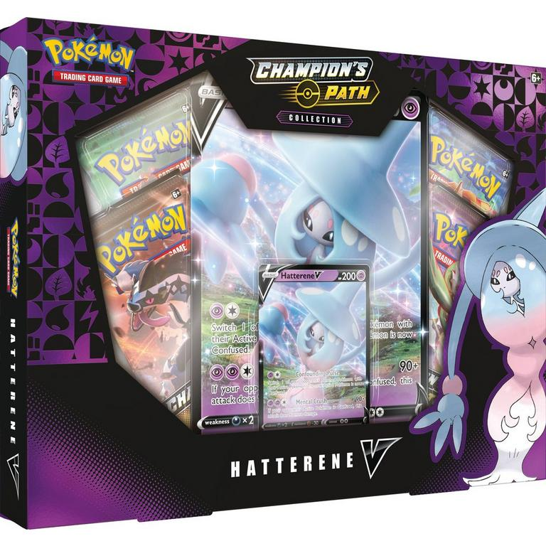 Pokemon Trading Card Game: Champion's Path Hatterene V Collection