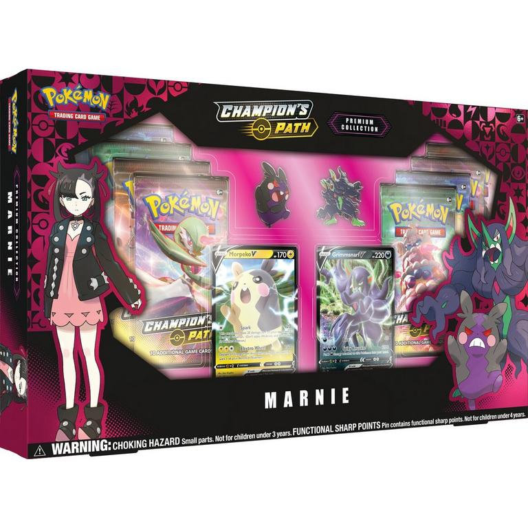 Pokemon Trading Card Game: Champion's Path Marnie Premium Collection