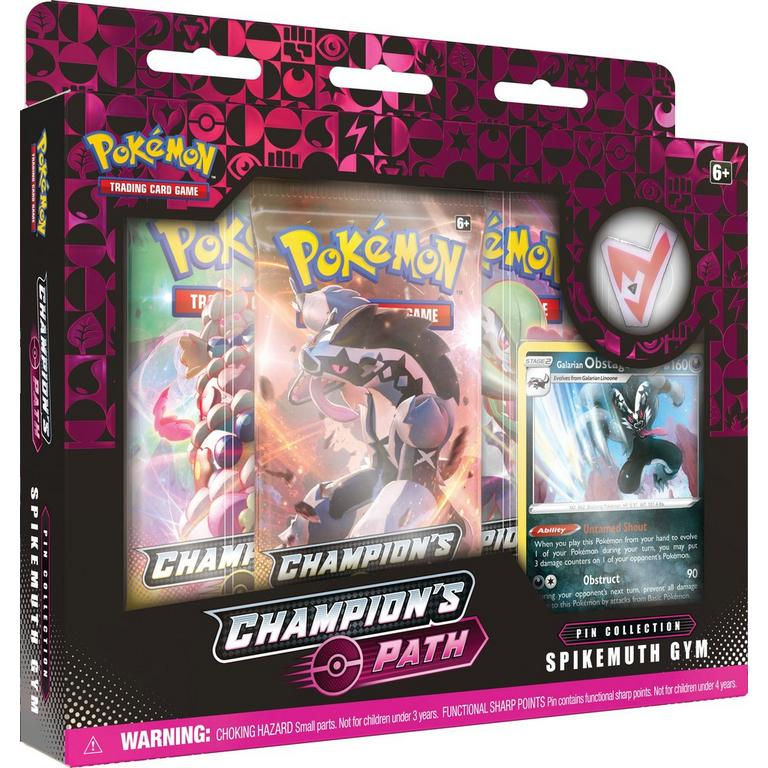 Pokemon Trading Card Game: Champion's Path Wave 2 Pin Collection (Assortment)
