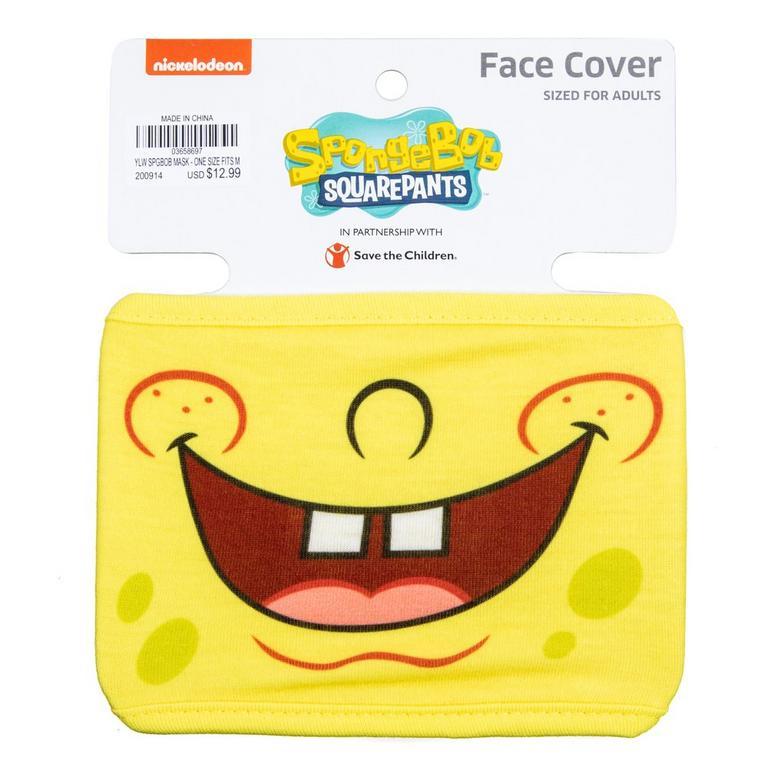SpongeBob SquarePants Smile Face Mask