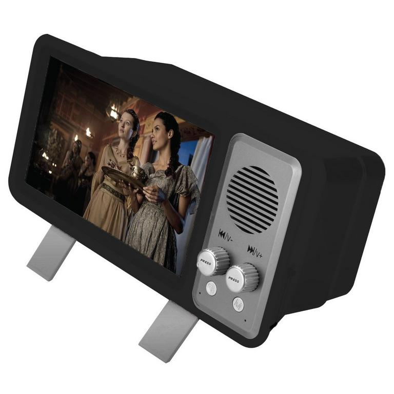 RetroTV Bluetooth Speaker and Magnifier