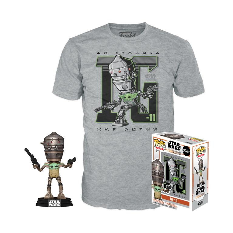 POP! and Tee Star Wars: The Mandalorian IG-11