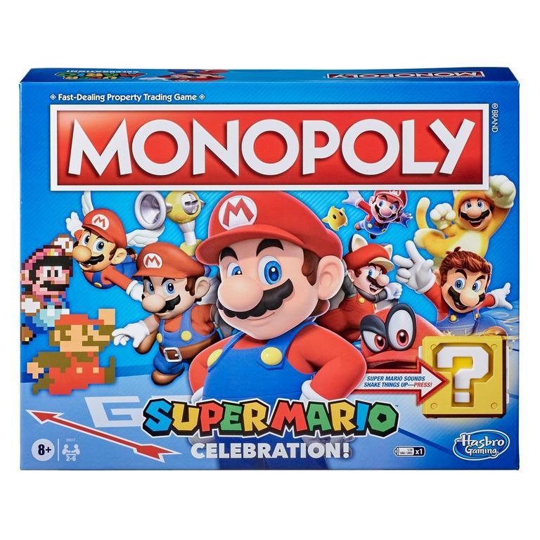Monopoly: Super Mario Bros. Celebration! Edition Board Game