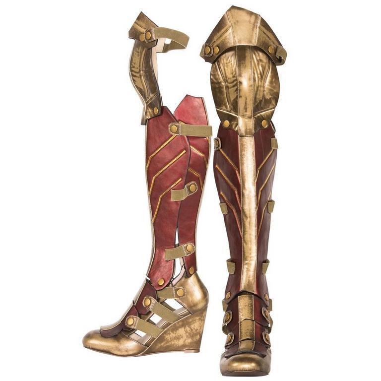 Wonder Woman Wedge Boots