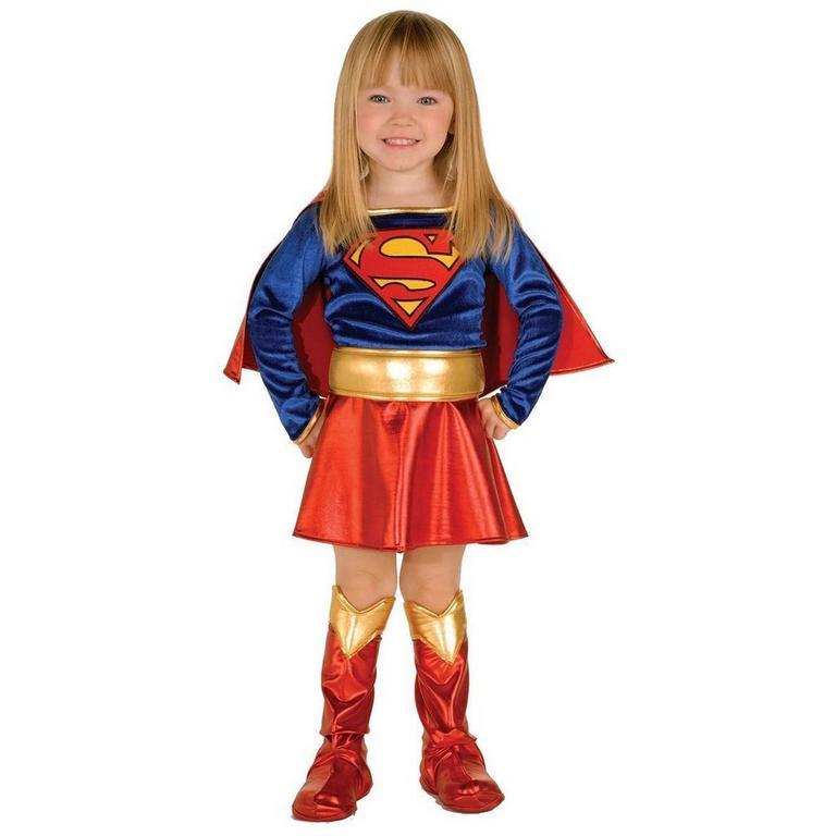 Superman Classic Supergirl Toddler Costume