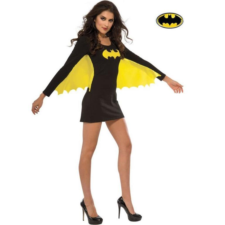 Batman Batgirl Wing Dress, Blackyellow Large Rubie's Costume Company GameStop