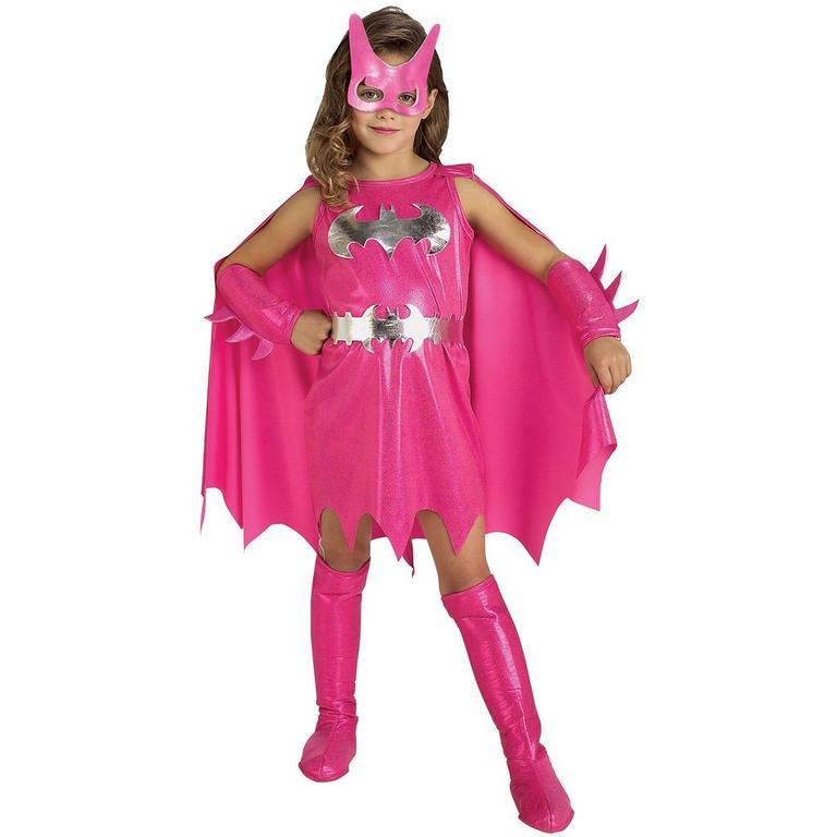 Batman Pink Batgirl Youth Costume