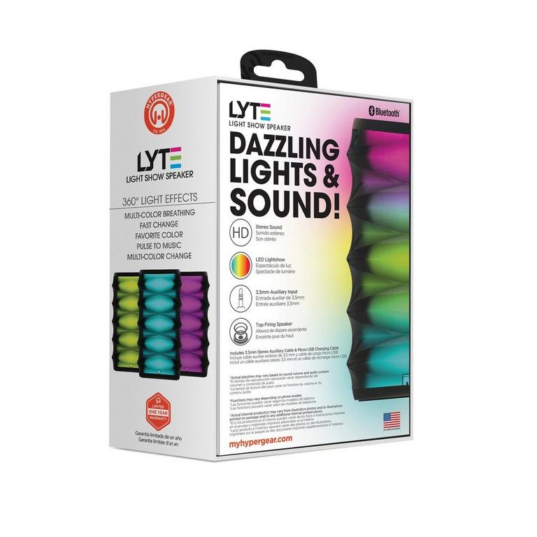 LYTE Wireless LED Light Show Speaker