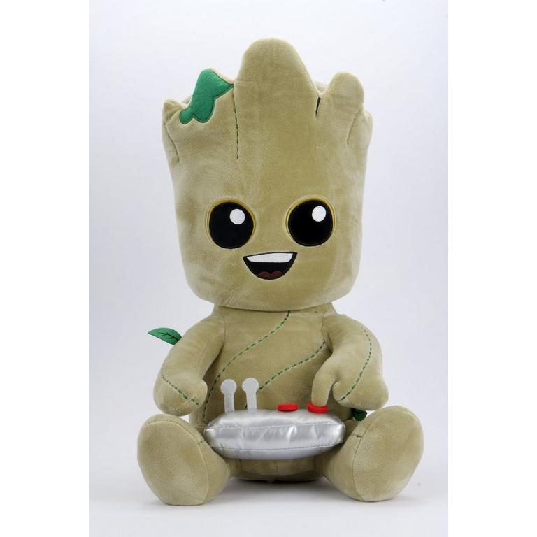 Guardians of the Galaxy Button Groot HugMe Plush