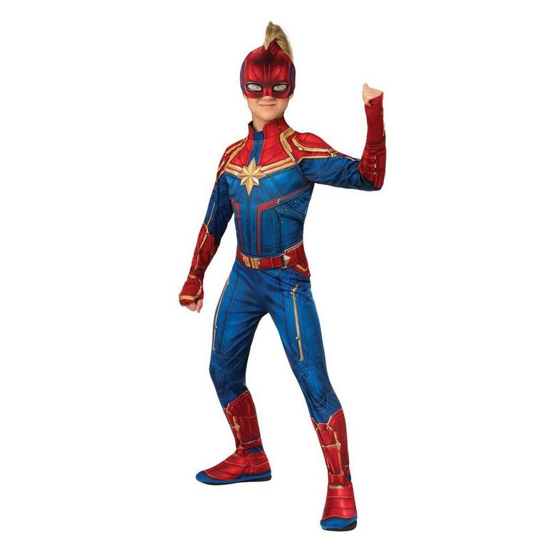Captain Marvel Hero Suit Youth Costume