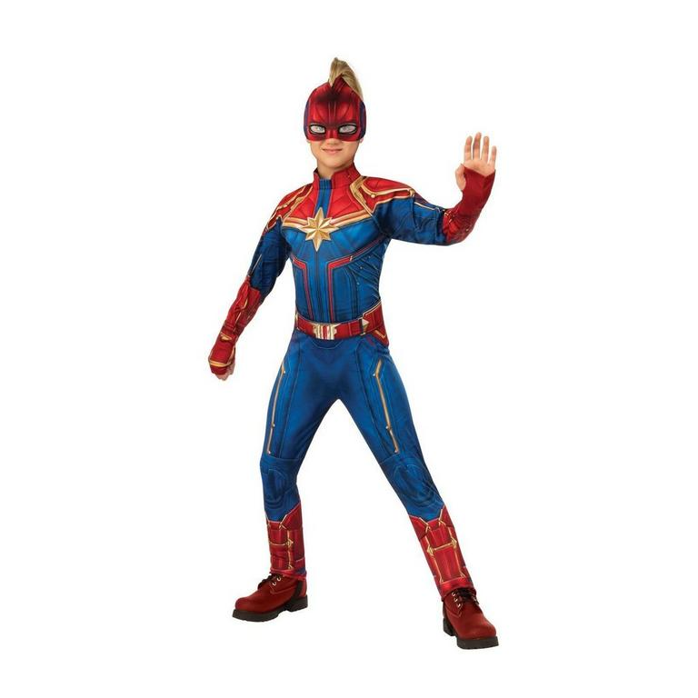 Captain Marvel Hero Suit Deluxe Youth Costume