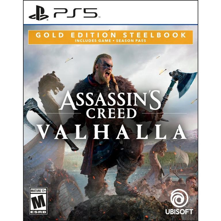 Assassin's Creed Valhalla Gold Steelbook Edition