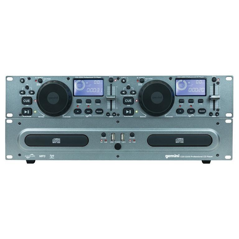 CDX-2250I DJ CD Media Player with USB