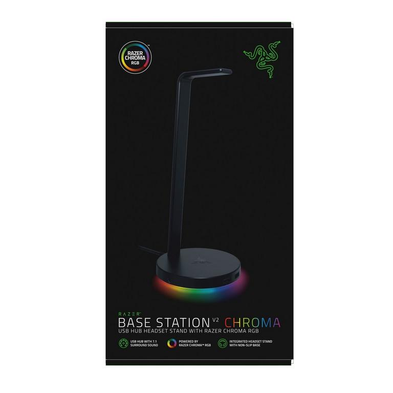 Base Station V2 Chroma Headset Stand with USB 3.1 Hub and 7.1 Surround Sound