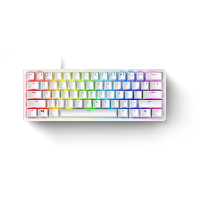 Huntsman Mini Mercury Edition 60 Percent Optical Purple Switches Wired Gaming Keyboard