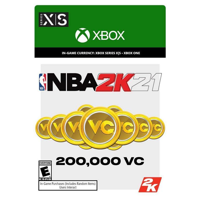 NBA 2K21 200,000 Virtual Currency