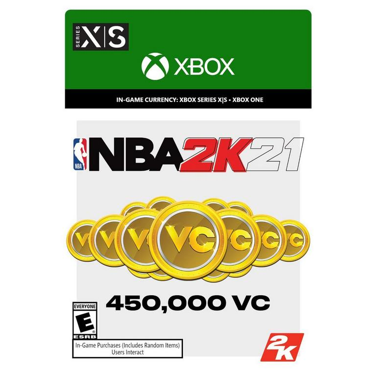 NBA 2K21 450,000 Virtual Currency