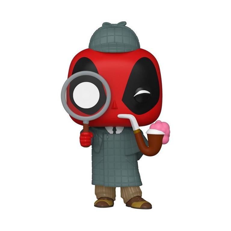 POP! Marvel: Deadpool 30th Anniversary Sherlock Deadpool Only at GameStop