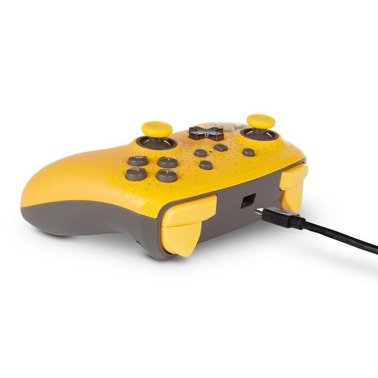 Pokemon Pixel Pikachu Enhanced Wired Controller for Nintendo Switch