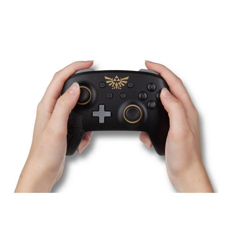 The Legend of Zelda Hylian Crest Enhanced Wireless Controller for Nintendo Switch