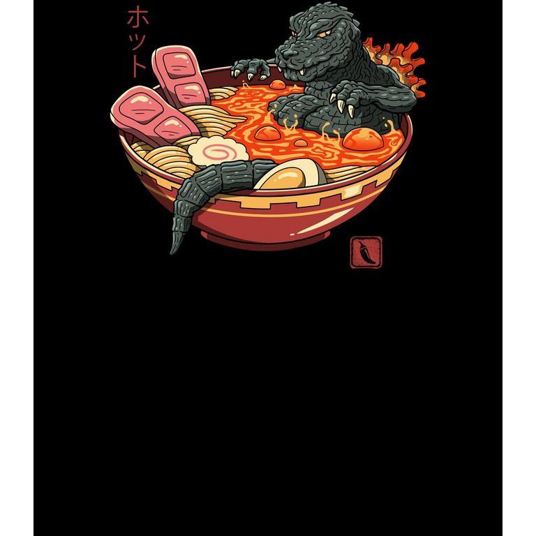 Spicy Lava Ramen Godzilla T-Shirt