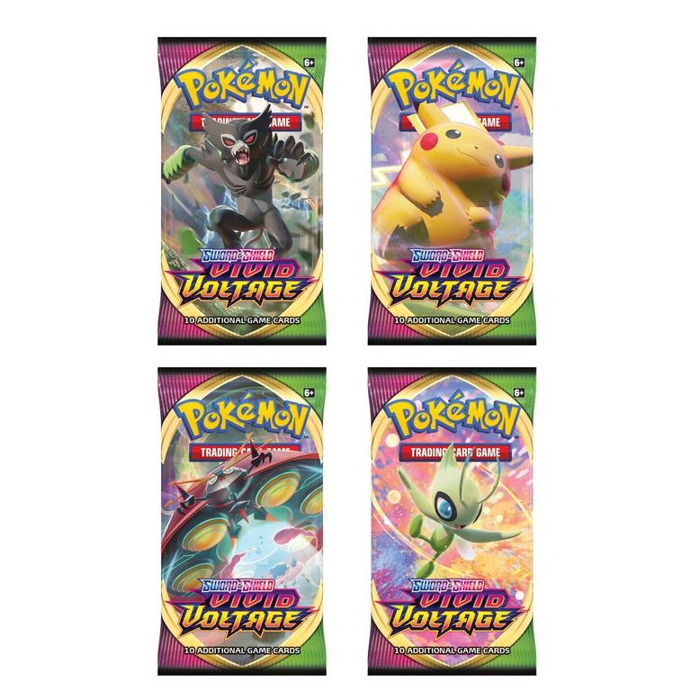 Pokemon: Trading Card Game Sword and Shield Vivid Voltage Booster Pack
