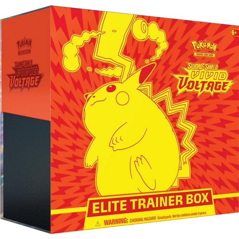 Pokemon: Trading Card Game Sword and Shield Vivid Voltage Elite Trainer Box
