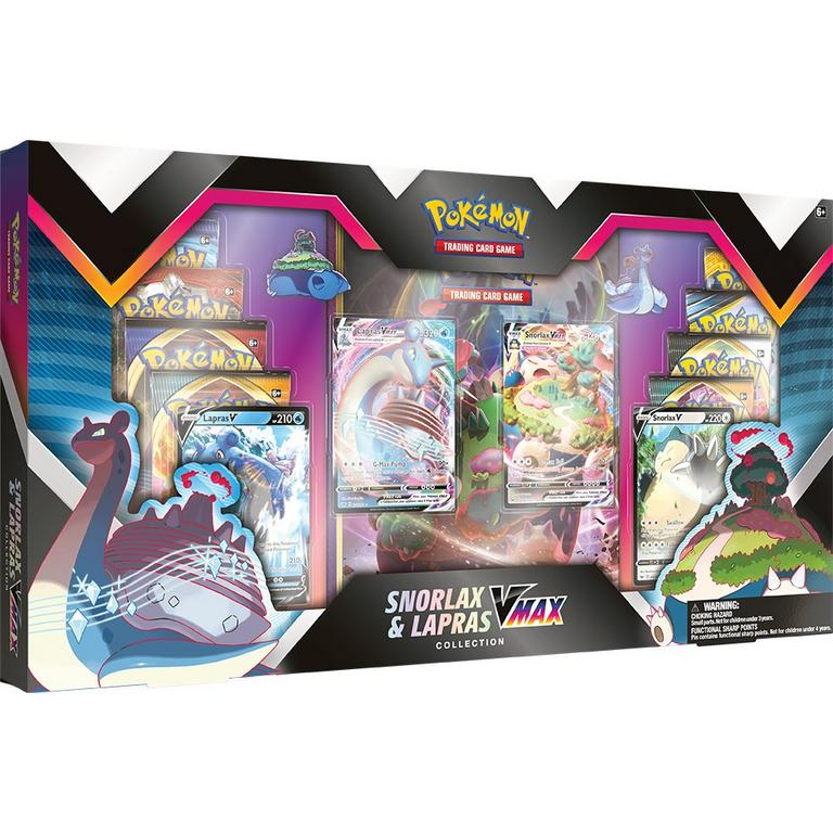 Pokemon Trading Card Game: Snorlax and Lapras VMAX Collection Only at GameStop