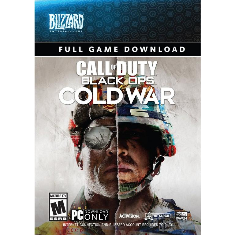 Digital Call of Duty: Black Ops Cold War PC Games Activision GameStop