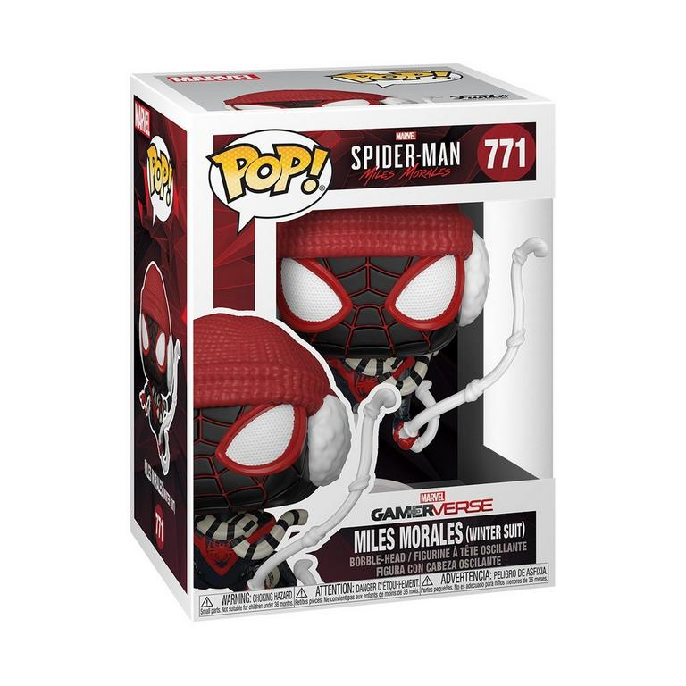 POP! Marvel's Spider-Man: Miles Morales - Miles Morales Winter Suit