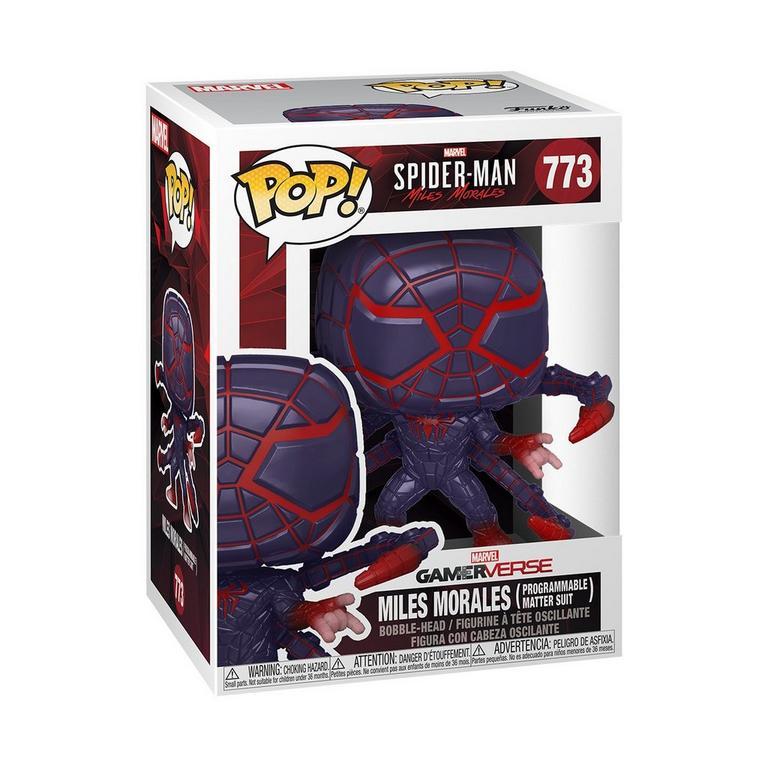 POP! Marvel's Spider-Man: Miles Morales - Miles Morales Programmable Matter Suit